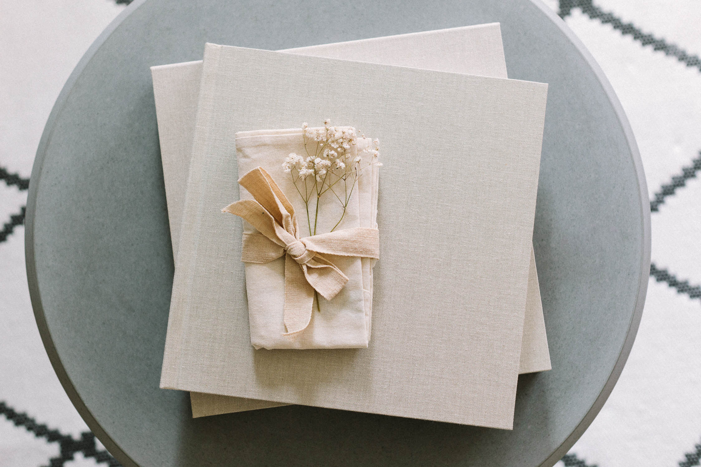 Frontalansicht des Hochzeitsalbum «BELLE BOOK», Alexandra Kapser - Hochzeitsalbum