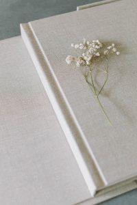 Cover und Box des Hochzeitsalbum «BELLE BOOK», Alexandra Kapser - Hochzeitsalbum