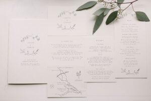 Die Papeterie der Hochzeit von der Traufabrik, Hochzeitsfotograf Bodensee - Alexandra Kasper