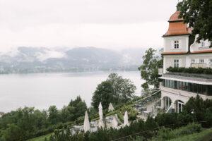 Das Tegernsee Hotel im Portrait mit Aussicht, Hochzeit am Tegernsee - Fährhütte 14, Alexandra Kasper